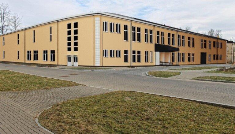 Foto: Noslēgumam tuvojas būvdarbi Nacionālā arhīva ēkā Daugavpilī