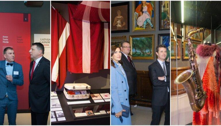 Foto izlase: Trīs bagātīgi gadi 68 muzeju kopizstādē 'Latvijas gadsimts'