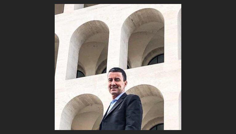 Правнук Муссолини Гай Юлий Цезарь баллотируется в Европарламент