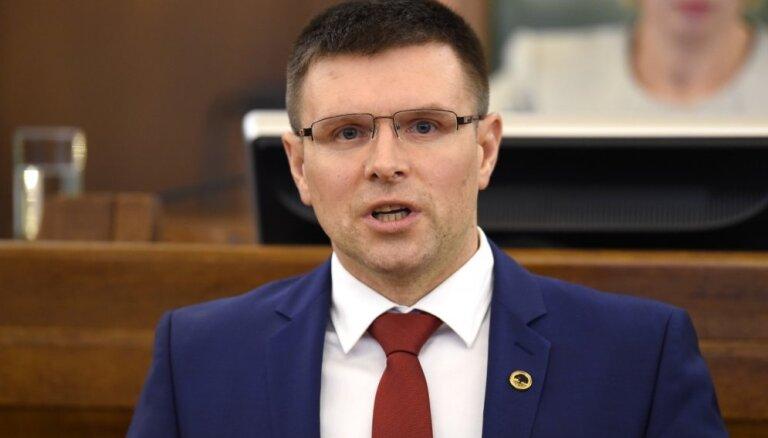 Par Saeimas Aizsardzības komisijas priekšsēdētāju ievēlēts Juris Rancāns