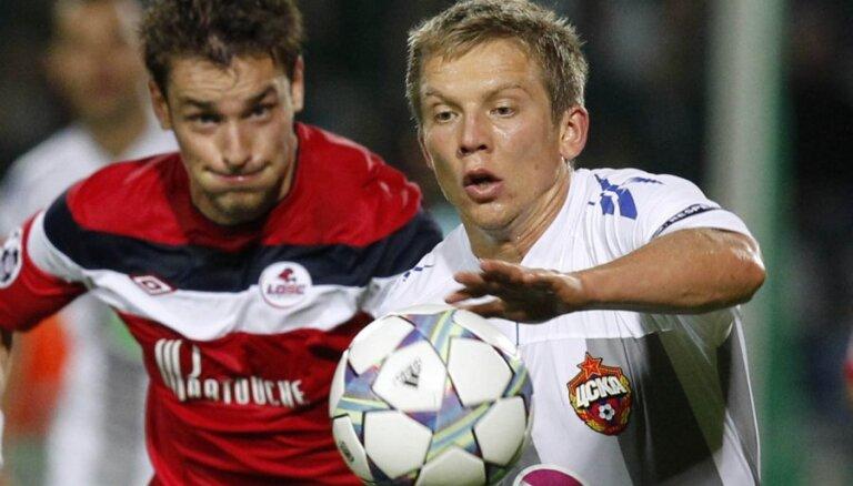 Цауня готов играть за ЦСКА даже в обороне