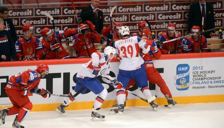 Norvēģijas izlase sašutusi par neieskaitītajiem vārtiem mačā pret Krieviju
