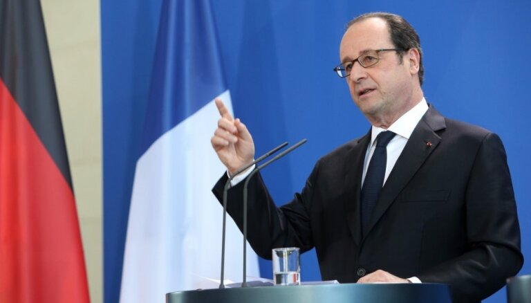Olands aicina Eiropu uz 'stingru' atbildi pret Trampu