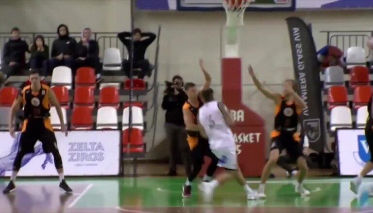 'OlyBet' basketbola līgas TOP 5 (14.11.2018.)