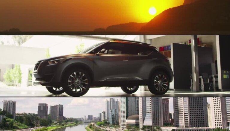 'Nissan' parāda jauna apvidnieka konceptu 'Kicks'