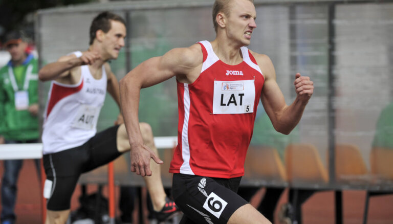 Sprinterim Arājam 20.vieta un barjerskrējējam Baltušam 23.vieta Eiropas čempionātā