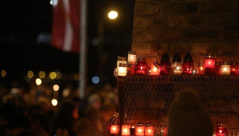 В День Лачплесиса пожарные тушили возгорания от свечей