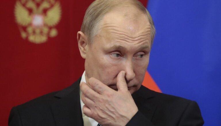 Putins Rietumiem pārmet Balkānu destabilizēšanu