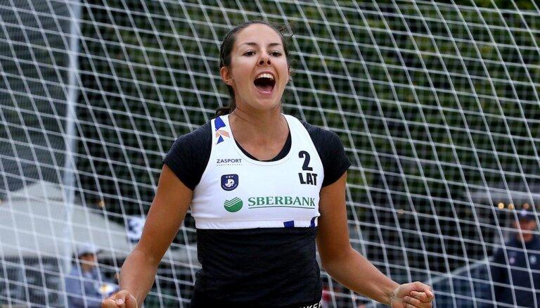 Graudiņa/Kravčenoka iekļūst Eiropas čempionāta pusfinālā