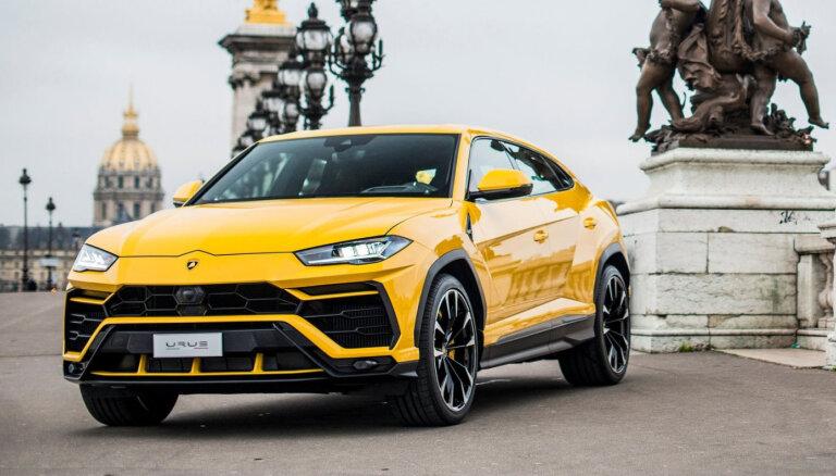 'Lamborghini' pārdevis vairāk apvidnieku nekā superkāru