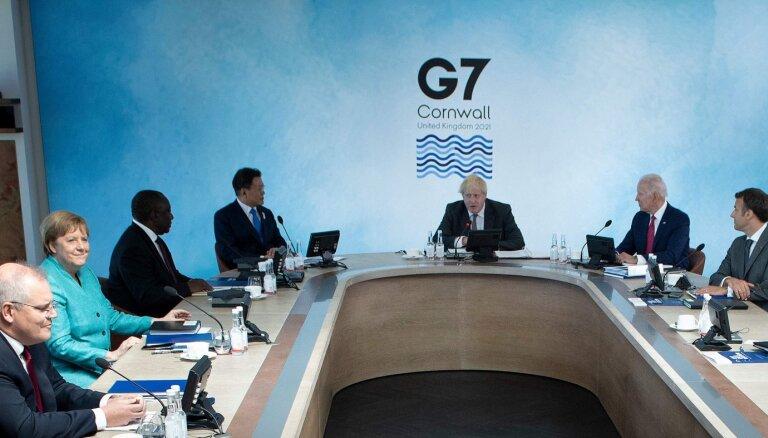 G7 потребовала от РФ объяснить применение химоружия на ее территории