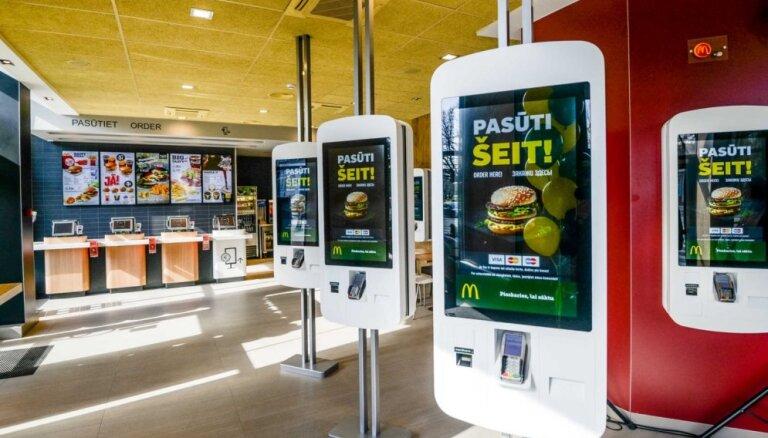 Šogad plānots atvērt jaunu 'McDonald's' restorānu Rīgas tirdzniecības centrā