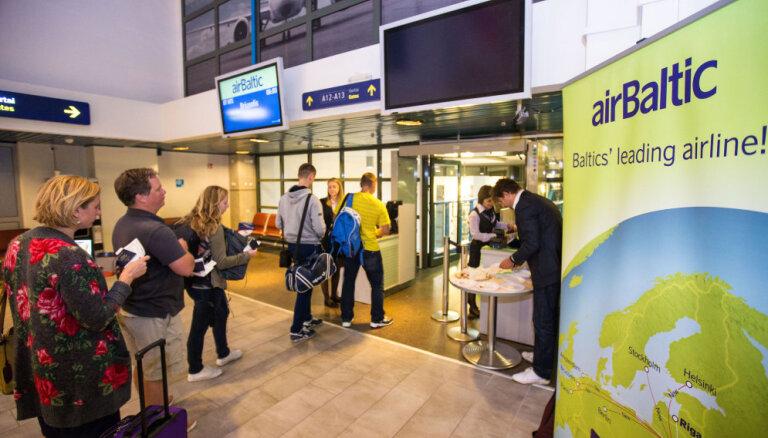airBaltic откроет маршрут Вильнюс-Таллин