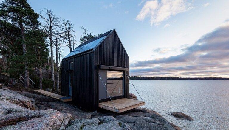ФОТО. В окружении природы – как выглядит небольшой экодом в Финляндии