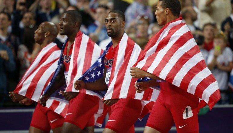 Американских спринтеров лишат серебра лондонской Олимпиады