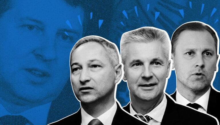 Gobzems, Bordāns un Pabriks — divi juristi un politologs — kurš labāks premjers?
