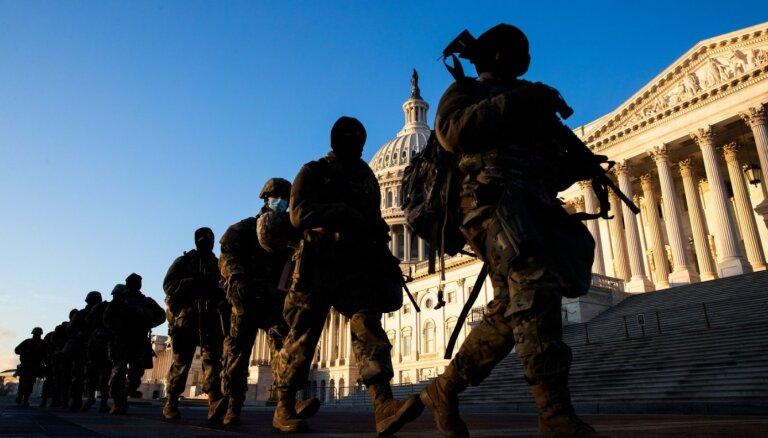 12 бойцов Нацгвардии США отстранены от службы на инаугурации Байдена