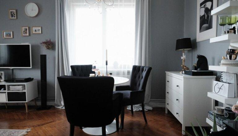 Я художник, я так вижу. 18 творчески оформленных гостиных в Латвии (ФОТО)