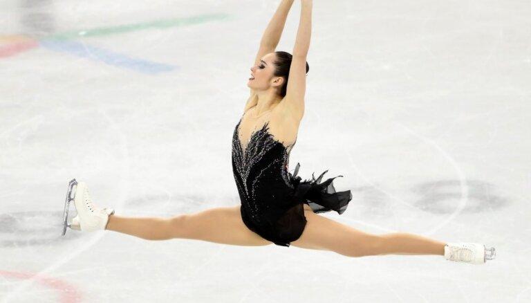 XXIII Ziemas olimpisko spēļu rezultāti daiļslidošanā sievietēm (23.02.2018.)