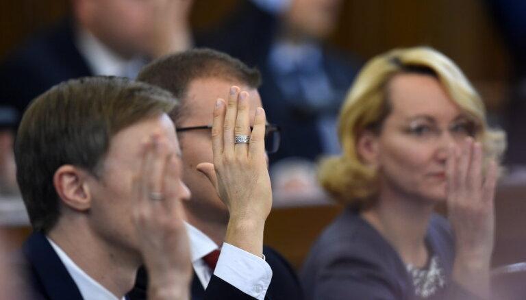 Saeima atbalsta NA virzīto rezolūciju ANO migrācijas pakta neatbalstīšanai