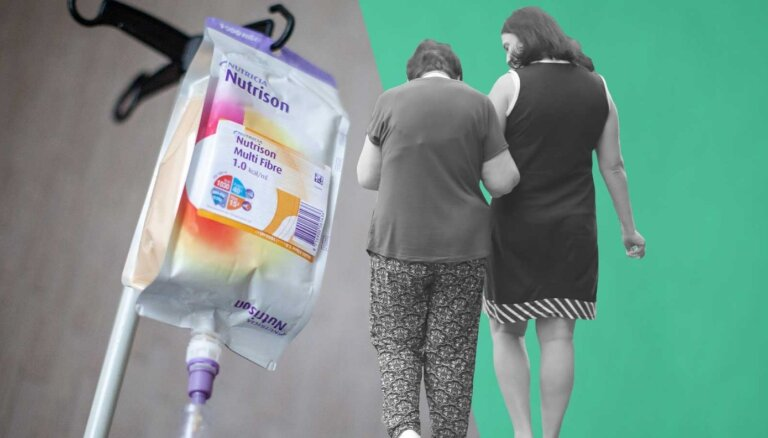 Bads nav metafora: izkūp solījumi pacientiem par apmaksātu medicīnisko uzturu