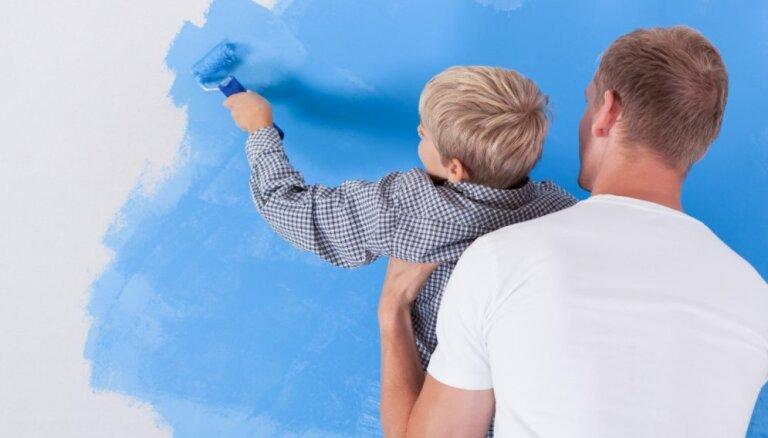 Kas jāņem vērā, lai nokrāsotu sienas, kā profesionāls meistars?