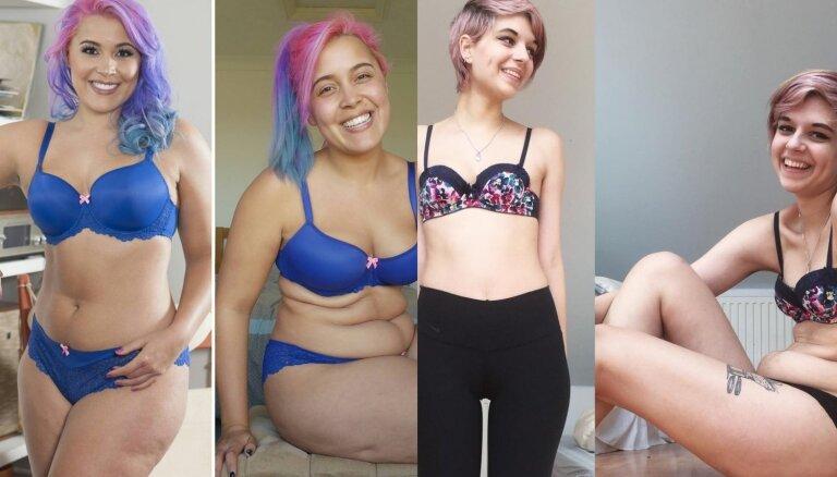 Septiņas sievietes parāda, cik mānīgas ir soctīklos redzamās fotogrāfijas
