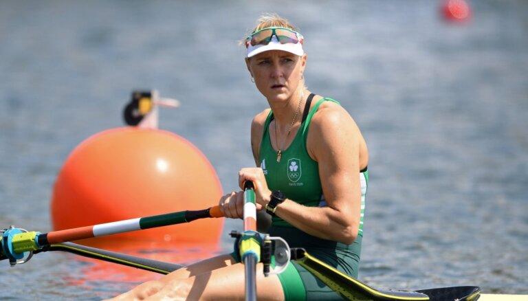 Īrijas airētāja Pušpure pārliecinoši sasniedz olimpisko spēļu ceturtdaļfinālu