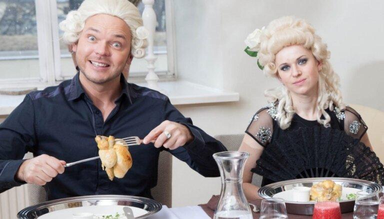 TV skatītājus priecē vakariņu šova jaunā sezona