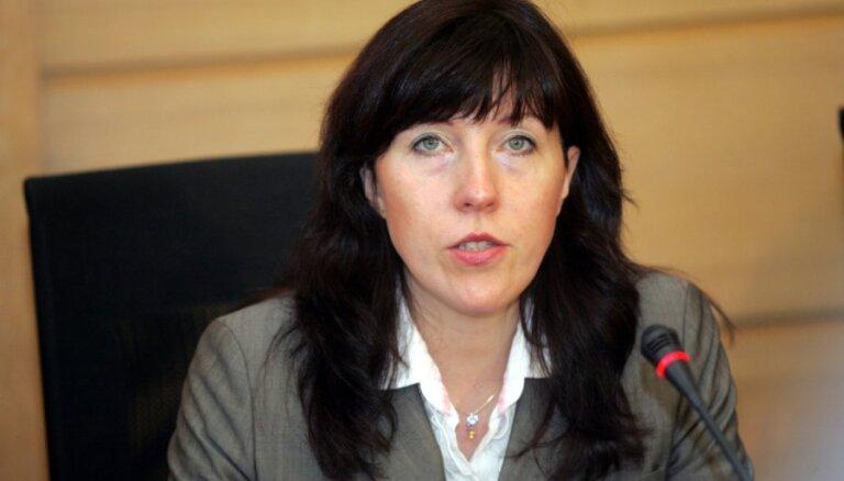Bijušajai KM valsts sekretārei Zvidriņai rājiens par nekvalitatīvu pienākumu pildīšanu