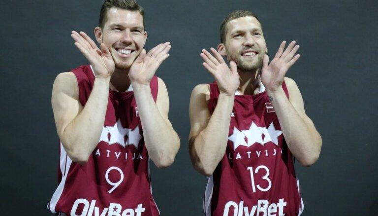 Strēlnieks un Dairis Bertāns gatavojas palīdzēt Latvijas izlasei izšķirošajā PK kvalifikācijas mačā