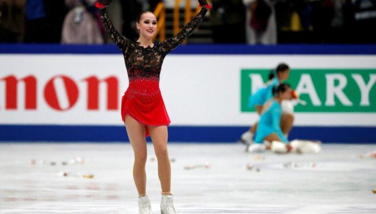 Krievijas daiļslidotāja Zagitova tiek kronēta par pasaules čempioni