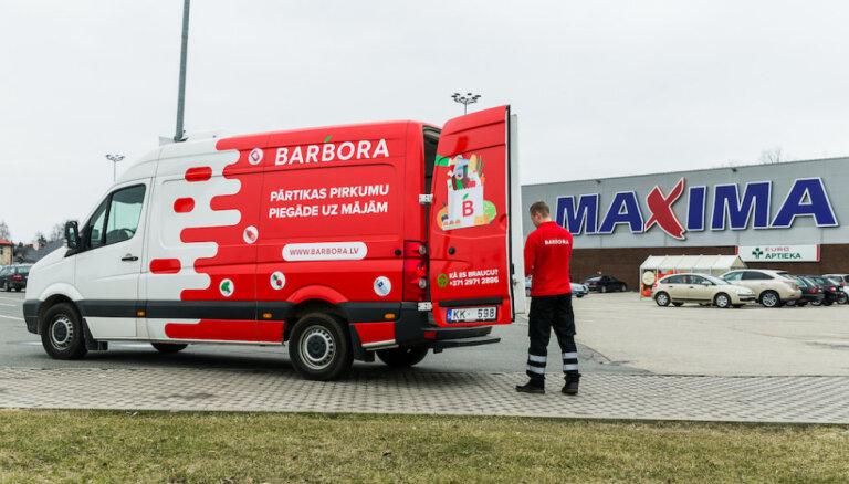 Покупки в Barbora.lv стали доступны для жителей Елгавы, Лиепаи, Вентспилса и других городов Земгале и Курземе