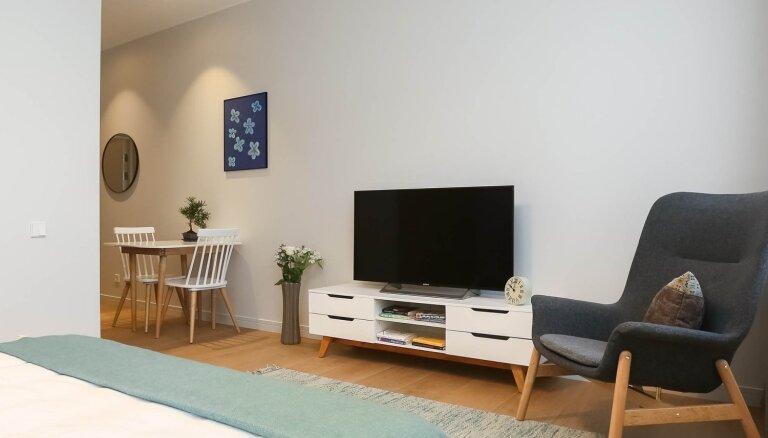 """Mūsdienīga un estētiska dzīvojamā platība galvaspilsētas centrā jaunajā dzīvokļu projektā """"Park Residence"""", A. Kalniņa ielā 1."""