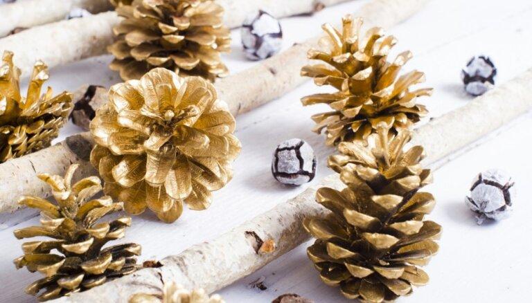 Преображение шишек: 13 идей для новогодних украшений (ФОТО)