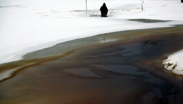 VUGD aicina nekāpt uz ledus