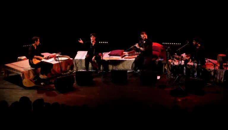 Sērijā 'Pasaule Lielajā dzintarā' muzicēs Šemirani ģimene