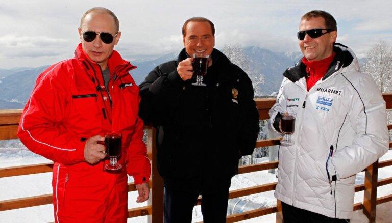 Berluskoni piedāvāts ekonomikas ministra amats Krievijā, vēsta laikraksts