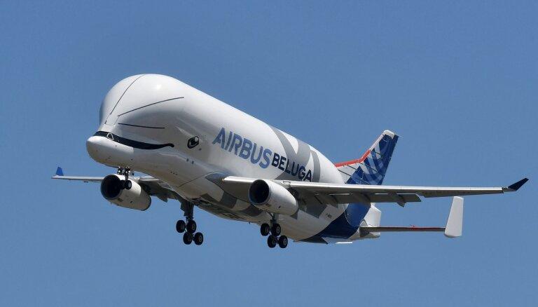В небо поднялся совершенно новый самолет-гигант от Airbus