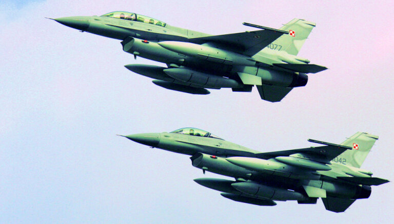 Polija janvārī pārņems Baltijas gaisa patruļu