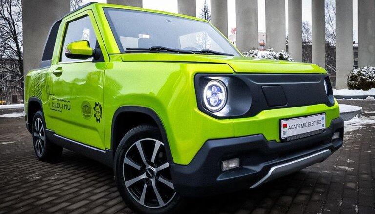 Krievija un Baltkrievija plāno elektromobiļus izstrādāt kopīgi