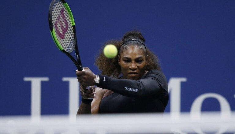 Sevastovas pretiniece 'US Open' pusfinālā būs Serēna Viljamsa