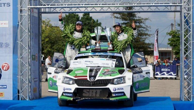 Aicina atbalstīt Ralfu Sirmaci cīņā par Eiropas rallija čempiona titulu