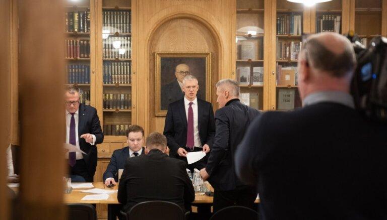 Par spīti 'KPV LV' atsevišķu biedru kritikai topošā valdība turpina iegūt aprises