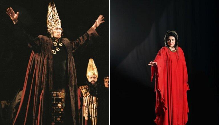 Samsona Izjumova jubilejas izrādē 'Nabuko' pirmo reizi dziedās Liene Kinča