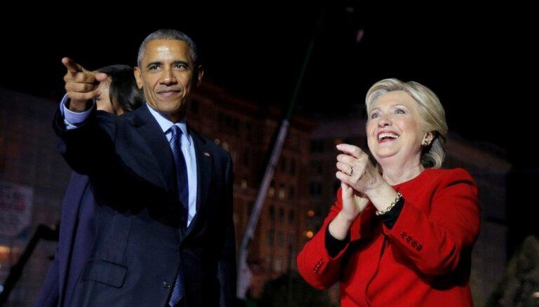 Klintonei un Obamam nosūtīti spridzekļi; evakuēts CNN birojs