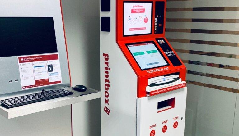Drukas kiosku pakalpojums 'Printbox' paplašinās Rīgā