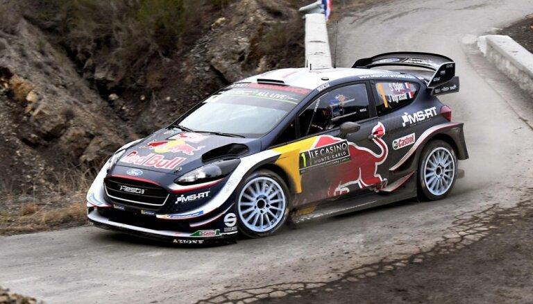 WRC sezona sākas ar Ožjēra un Tanaka dueli Montekarlo rallijā