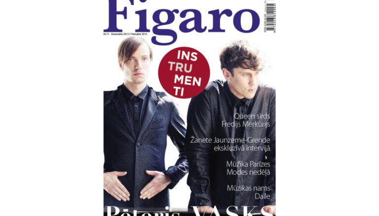 Iznācis žurnāla 'Figaro' ziemas numurs