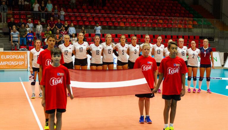 Nosaukts Latvijas sieviešu volejbola izlases kandidātu saraksts EČ kvalifikācijas spēlēm janvārī